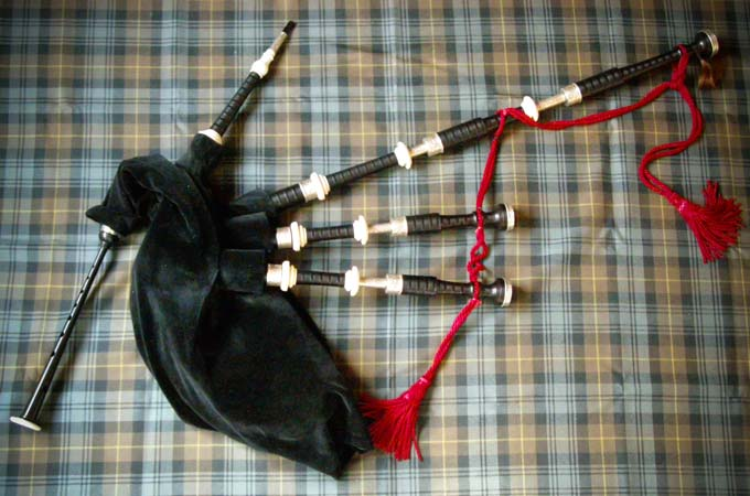 McCallum Halfsilver Great Highland Bagpipe